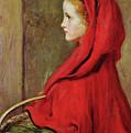 Red Riding Hood by John Everett Millais