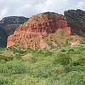 Red Rock At Caprock  by Ruth  Housley