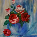 Red Roses  by Jenny Lee
