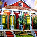 Red Shotgun House by Diane Millsap