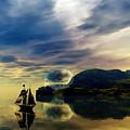 Reflection Bay by Sandra Bauser Digital Art