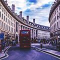 Regent Street In London by Pixabay