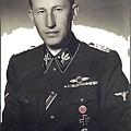 Reinhard Heydrich Circa 1940 Color Added 2016 by David Lee Guss