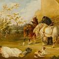 Resting Travelers by William Joseph
