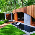 Rhs Chelsea Homebase Urban Retreat Garden by Chris Day