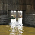 Richmond Floodwall Opening For Canal by Ben Schumin