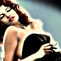 Rita Hayworth by Wbk