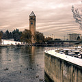 River Front Park Spokane by Lee Santa