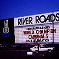 River Roads Mall Marquee Sign  by Dwayne Pounds