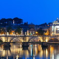 River Tiber In Rome by Songquan Deng
