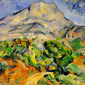 Road To The Montagne Sainte-victoire by Paul Cezanne