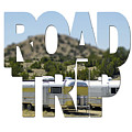 Road Trip Word Art by Toula Mavridou-Messer