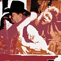 Robert Mitchum Hauls Angie Dickinson Collage Young Billy Young Old Tucson Arizona 1968-2013 by David Lee Guss
