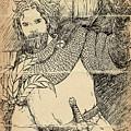 Robin Hood Baron Fitzwalter by Reynold Jay