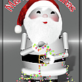 Robo-x9 Wishes A Merry Christmas by Gravityx9 Designs