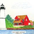 Rock Island Lighthouse by Frederic Kohli