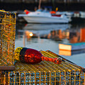 Rockport Ma Lobster Traps by Toby McGuire