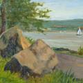 Rocks Along The Nyack Trail by Phyllis Tarlow