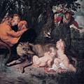 Romulus And Remus by Peter Paul Rubens