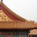 Roof Forbidden City Beijing China by Thomas Marchessault