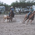 Roping Event 6 by Wendell Baggett
