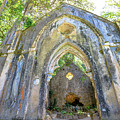 Ruins Of Chapel Sintra by Benny Marty