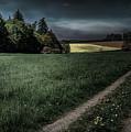 Rural Sunset by Reinhold Silbermann