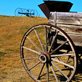 Rustic Wagon by Perry Webster