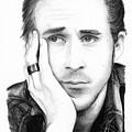 Ryan Gosling by Rosalinda Markle
