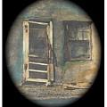 Sagging Door Lordsburg New Mexico 1968-2012 by David Lee Guss