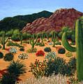 Saguaro Desert by Frederic Kohli