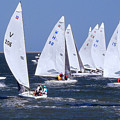 Sailboat Championship Racing by Scott Cameron