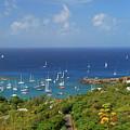 Sailboats by Gary Wonning