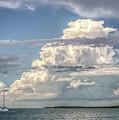 Sailing Away  by Ronald Kotinsky