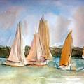 Sailing  by Julie Lueders