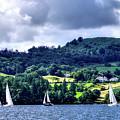 Sailing Lake Windermere by Lance Sheridan-Peel