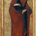 Saint Apollonia by Sassetta