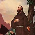 Saint Francis by Munir Alawi