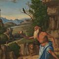 Saint Jerome In A Landscape by Giovanni Battista Cima da Conegliano