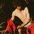 Saint John The Baptist by Michelangelo Caravaggio