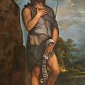 Saint John The Baptist by Titian
