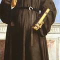 Saint Nicholas Of Tolentino by Piero della Francesca