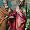 Saint Peter And Saint Paul by El Greco