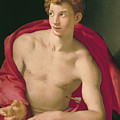Saint Sebastian by Bronzino
