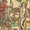 Saint Sebastian by German 15th Century