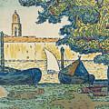 Saint-tropez by Paul Signac