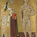 Saints Fabian And Sebastian by PixBreak Art