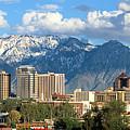 Salt Lake City Utah Skyline by Utah Images