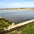 Salt Marshes - Trapani Salt Flats by Kayme Clark