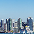 San Diego Skyline by Peter Tellone